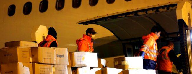 Avião com material proveniente da China voltou sem reagentes para testes e ventiladores
