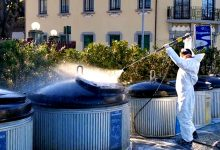 Câmara Municipal da Póvoa de Varzim iniciou serviço diário de desinfeção de contentores
