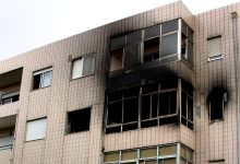 Fogo destrói apartamento na Póvoa de Varzim e provoca quatro feridos por inalação de fumo
