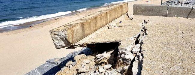 Agência Portuguesa do Ambiente vai reabilitar a marginal da praia de Árvore em Vila do Conde