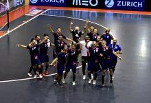 Caxinas vence Ferreira do Zêzere e cumpre sonho da subida à primeira divisão nacional de futsal