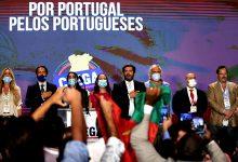 Militante do Chega de Vila do Conde sobe à tribuna para discursar na II Convenção do partido