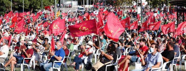 """Líder do PSD Rui Rio faz em Vila do Conde um """"balanço negativo"""" da Festa do Avante do PCP"""
