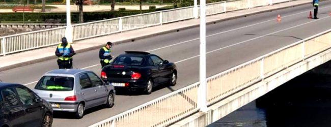 Circulação entre concelhos em Portugal continental proibida até às 5 horas de 4.ª feira