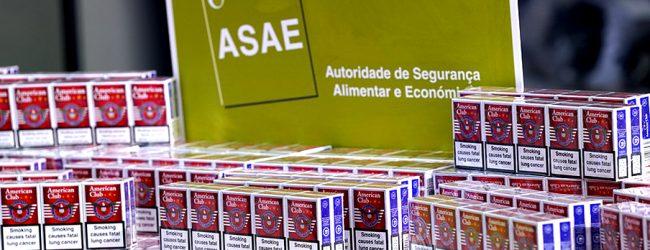 ASAE apreendeu em Matosinhos 12 mil maços de tabaco de contrabando no valor de 54 mil euros