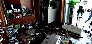 Bomba de combustível vandalizada e assaltada na freguesia de Vilar do Pinheiro de Vila do Conde