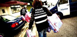 ASAE apreende 34 mil artigos falsificados no valor de 72.433 euros em buscas na Póvoa de Varzim