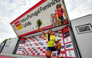 Ciclista vilacondense Raquel Queirós vence a primeira Volta a Portugal feminina em bicicleta