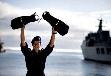 Primeira Mulher na Classe de Mergulhadores da Marinha é Adriana Oliveira de Vila do Conde