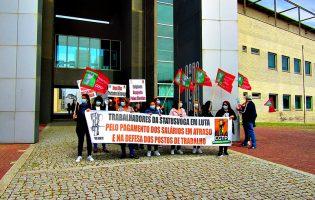 Trabalhadores reivindicam em Vila do Conde reabertura das cantinas do Politécnico do Porto