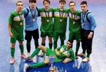Sete atletas do Futsal da ADCR Caxinas foram campeões