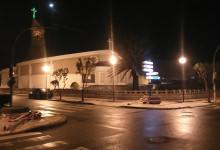 Vento forte destrói semáforos nas Caxinas