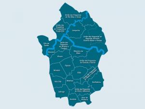 novo mapa das freguesias portugal Governo de Portugal quer novo mapa de freguesias até 2021 • Jornal  novo mapa das freguesias portugal