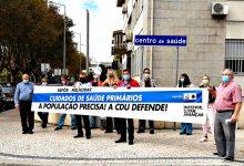 CDU faz ação de protesto pelo funcionamento pleno dos centros de saúde da Póvoa de Varzim