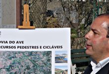 Candidato do PSD Pedro Soares à Câmara de Vila do Conde apresenta ecovia ao longo do rio Ave