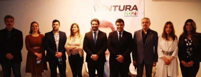 André Ventura apresentou oito candidatos do Chega às Câmara Municipais do distrito do Porto