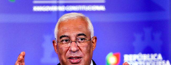 António Costa diz que Portugal vai avançar com plano de desconfinamento previsto a 5 de abril
