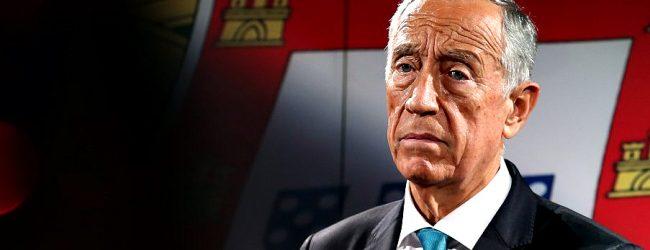 Presidente da República Marcelo Rebelo de Sousa anuncia fim do Estado de Emergência a 30 de abril