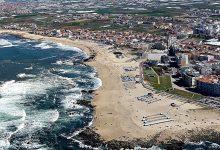 Praia da Fragosa é a que tem maior capacidade no concelho da Póvoa de Varzim (2.600 pessoas)