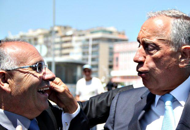 Presidente da República elogia trabalho do Mestre José Festas pela segurança dos pescadores