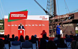 António Costa garante em Vila do Conde combate à crise provocada pela Covid-19 sem austeridade
